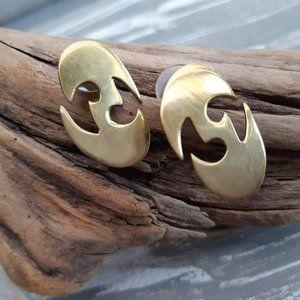 Golden Earrings | Minimalist Studs
